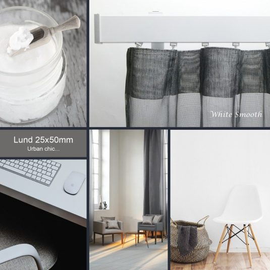 The ultimate minimal look – Lund m72 features clean surfaces