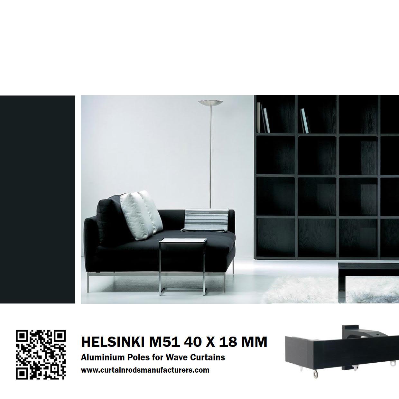 Helsinki M51 40 x 18mm