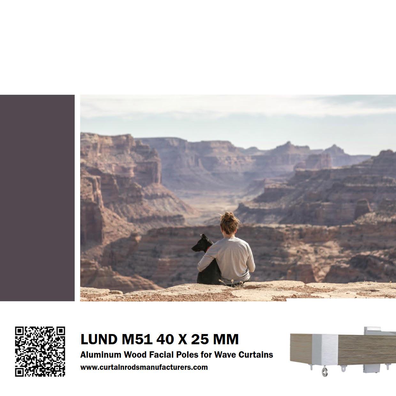Lund M51 40 x 25mm