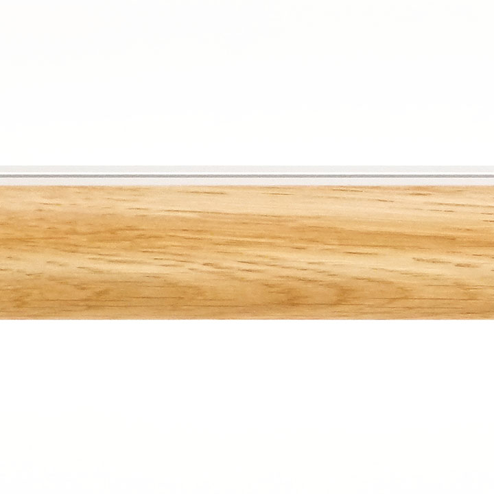 Lund M52 35 mm Aluminum Oak Facial Poles for Wave Curtains