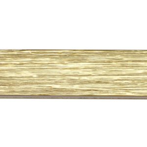 Berlin M51 35 x 35 mm Wood Poles for Wave Curtains Textured Gold